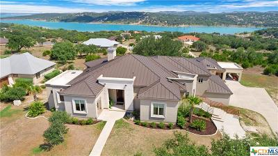 Canyon Lake TX Single Family Home For Sale: $899,900
