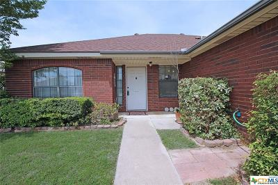Killeen Single Family Home For Sale: 4603 Winslow Drive