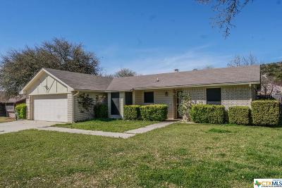 Copperas Cove Single Family Home For Sale: 2317 Tiffany Drive