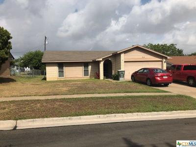 Killeen Single Family Home For Sale: 3315 Bermuda