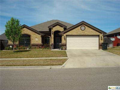 Killeen Single Family Home For Sale: 2803 Inspiration Drive