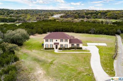 Comal County Single Family Home For Sale: 753 Caballo Trail