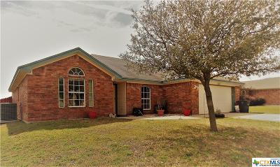Killeen Single Family Home For Sale: 3808 Frigate Drive
