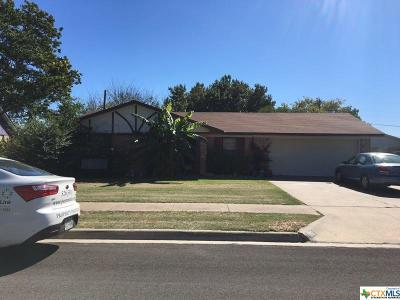 Killeen Single Family Home For Sale: 1702 Kangaroo