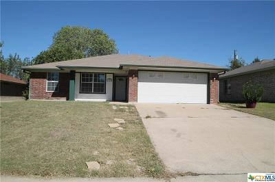 Copperas Cove Single Family Home For Sale: 1310 Elke