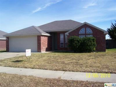 Killeen Single Family Home For Sale: 3304 Trey