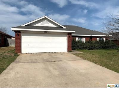 Killeen Single Family Home For Sale: 4303 Wade