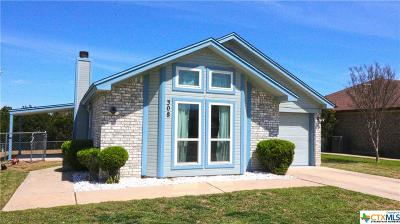 Copperas Cove Single Family Home For Sale: 308 Pinto Drive