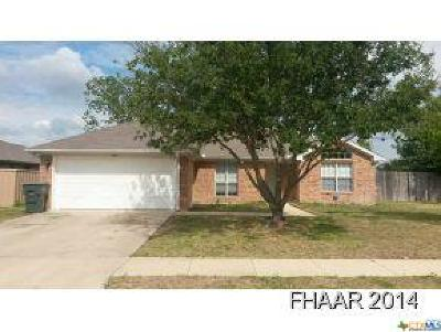 Killeen Single Family Home For Sale: 4910 Lindsey Drive