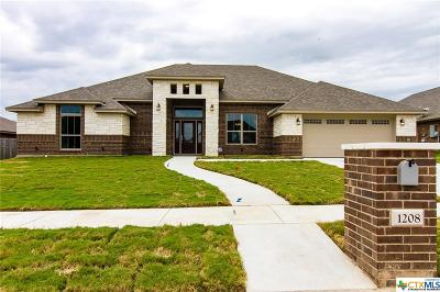 Copperas Cove Single Family Home For Sale: 1208 Nathan Lane