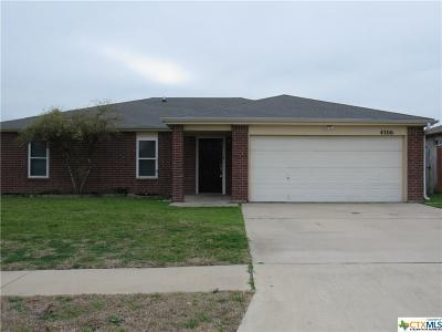 Killeen Single Family Home For Sale: 4206 Secretariat Drive