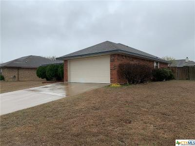 Killeen Single Family Home For Sale: 2014 Basalt Drive