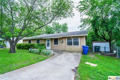 Copperas Cove Single Family Home For Sale: 611 Traci Drive