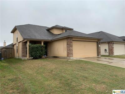 Killeen TX Single Family Home For Sale: $135,000