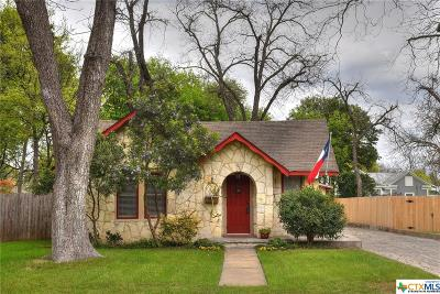 New Braunfels Single Family Home For Sale: 531 S Sycamore Avenue