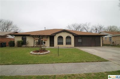 Copperas Cove Single Family Home For Sale: 1306 Phyllis