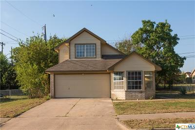 Killeen Single Family Home For Sale: 2306 Bluejay Drive