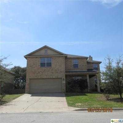 Harker Heights Single Family Home For Sale: 812 Red Fern Drive