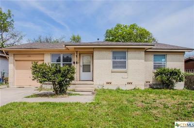 Killeen Single Family Home For Sale: 3205 June