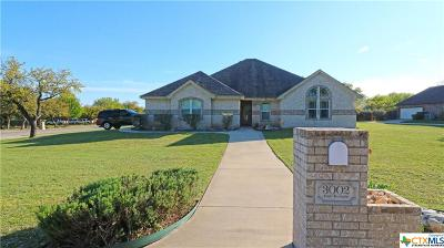 Copperas Cove Single Family Home For Sale: 3002 Sun Temple Circle