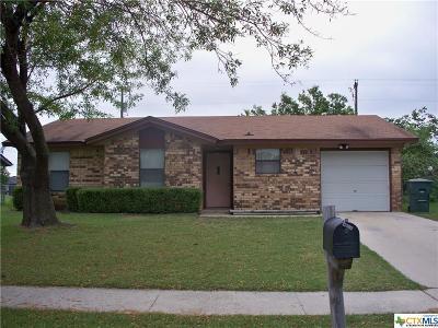 Killeen Single Family Home For Sale: 1805 Herndon