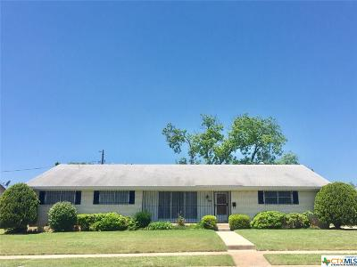 Killeen Single Family Home For Sale: 1407 Cedar Drive