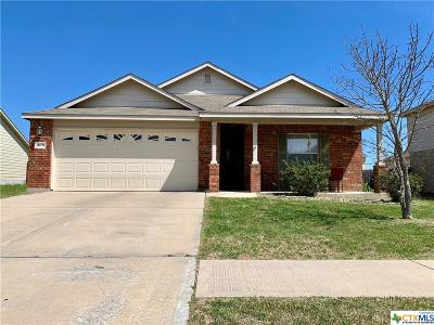 Killeen Single Family Home For Sale: 409 E Gemini Lane