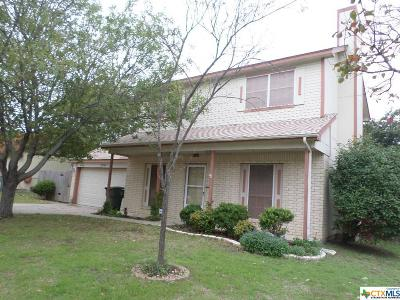 Killeen Single Family Home For Sale: 2701 Chameleon Drive