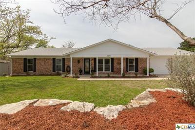 Harker Heights Single Family Home Pending: 3115 Oakridge Boulevard