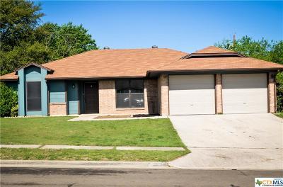 Killeen TX Single Family Home For Sale: $137,500