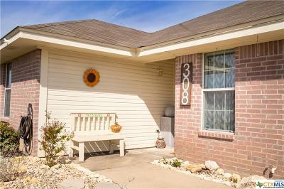Nolanville Single Family Home For Sale: 308 Sims Ridge Drive