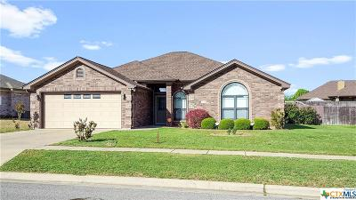 Killeen Single Family Home For Sale: 4905 Citrine Drive