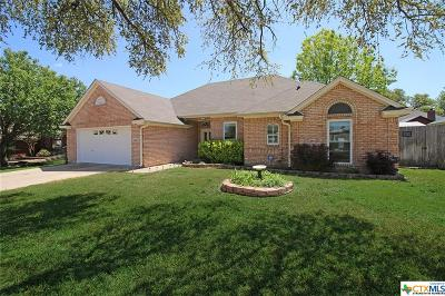 Killeen Single Family Home For Sale: 4406 Brookside Drive