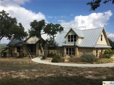 New Braunfels Single Family Home For Sale: 522 Cantera Ridge