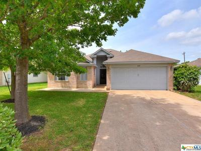 Leander Single Family Home For Sale: 809 Lantana Lane