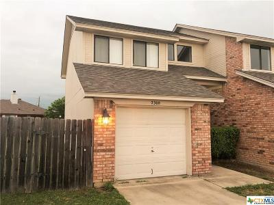 Killeen Condo/Townhouse For Sale: 2308 Wales Circle