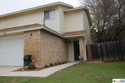 Killeen Condo/Townhouse For Sale: 1223 Westway Circle
