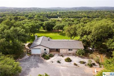 Wimberley TX Single Family Home For Sale: $765,000