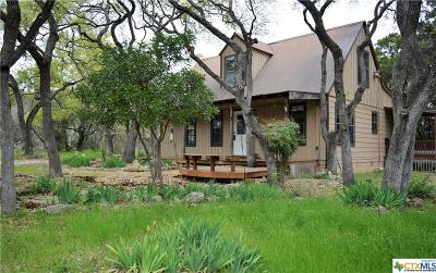 Wimberley Single Family Home For Sale: 60 Canyon Creek Drive