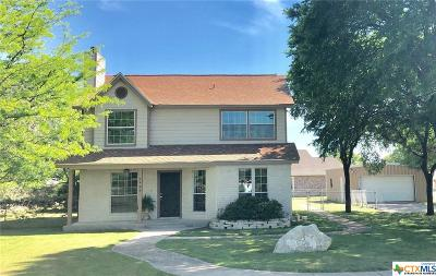 Coryell County Single Family Home For Sale: 1406 Golf Course Road