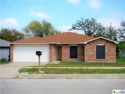 Copperas Cove Single Family Home For Sale: 304 Mesquite Circle
