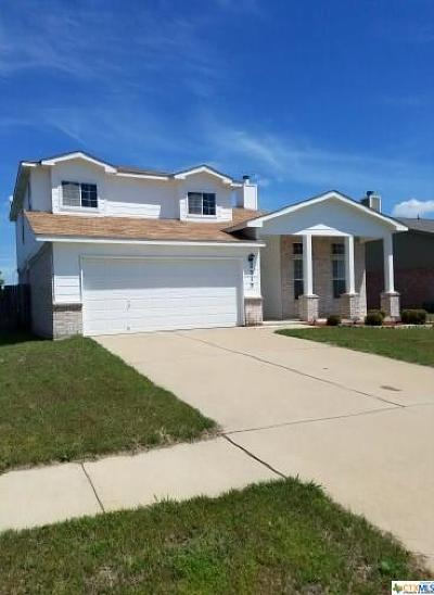 Killeen TX Single Family Home For Sale: $147,000