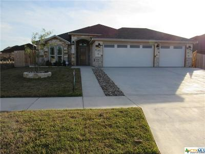 Killeen Single Family Home For Sale: 6116 Cactus Flower Lane