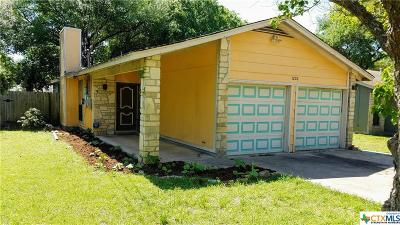 San Marcos Single Family Home For Sale: 1220 Conway Drive