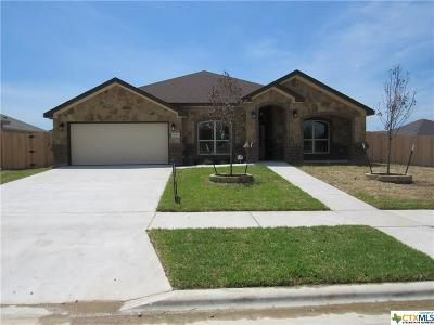 Killeen Single Family Home For Sale: 6118 Cactus Flower Lane