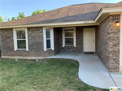 Nolanville Single Family Home For Sale: 207 W Lorrie