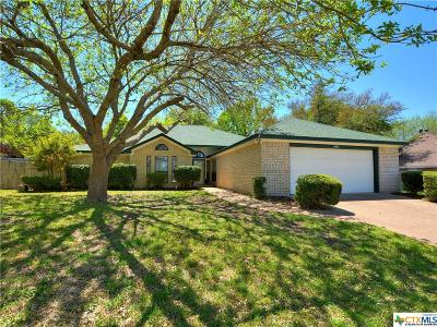 Harker Heights Single Family Home For Sale: 1604 Man O War Drive