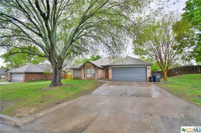 Harker Heights Single Family Home Pending: 2304 Skipcha Drive