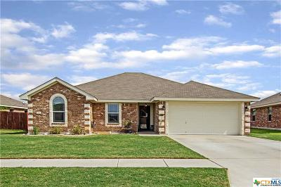 Copperas Cove Single Family Home For Sale: 3442 Plateau Street