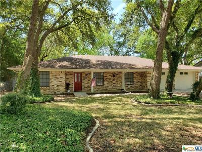 Temple Single Family Home For Sale: 3819 Chisholm Trail
